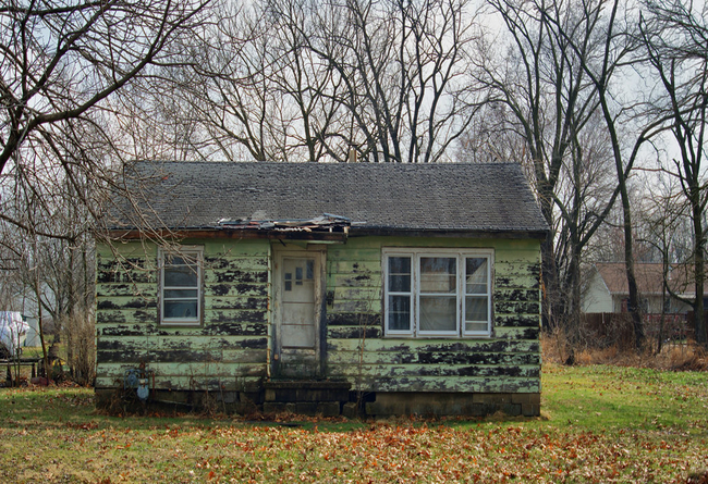 distressed home